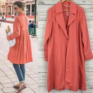 NWT Soft Surroundings town country trench coat